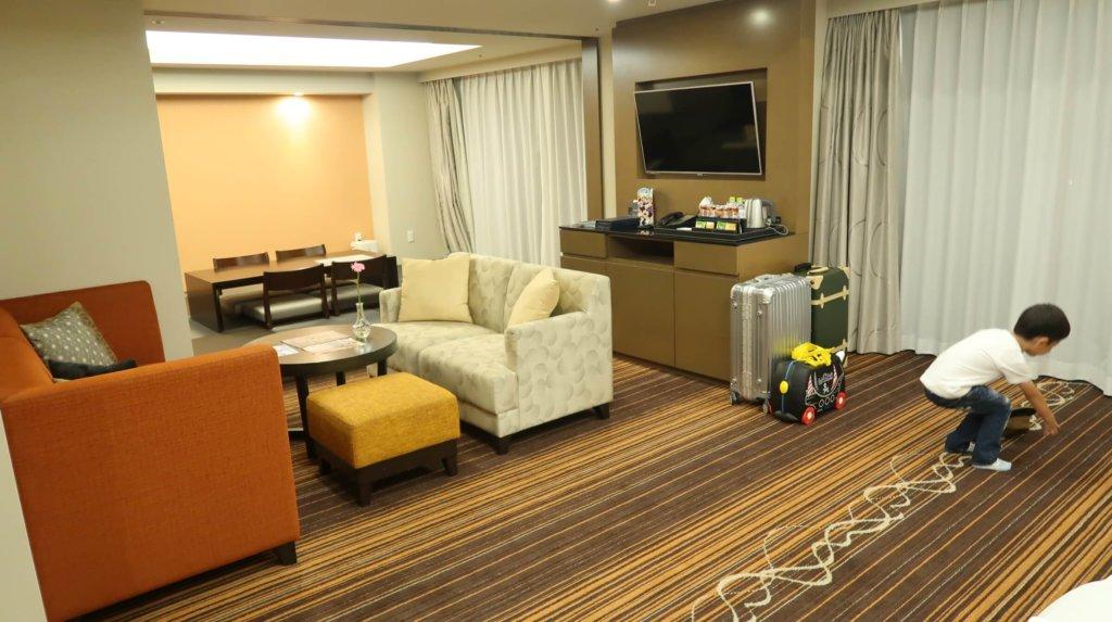 シェラトングランデ東京ベイのジャパニーズスイート清水の部屋