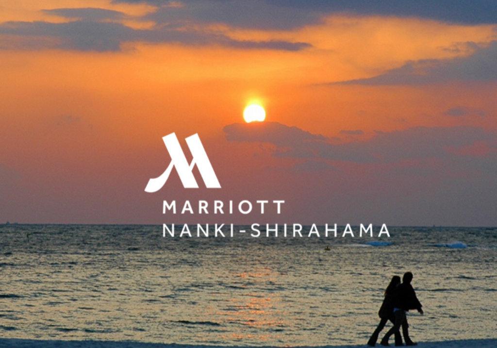 南紀白浜マリオット 夕日の写真