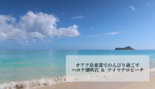 2020年1月ハワイ旅行⑱オアフ島東部までドライブ!ハナウマ湾・ハロナ潮吹き岩・ワイマナロビーチでのんびり過ごす♪