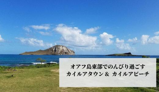 2020年1月ハワイ旅行⑲オアフ島東部までドライブ!カイルアタウン散策・ラニカイビーチでのんびり過ごす♪